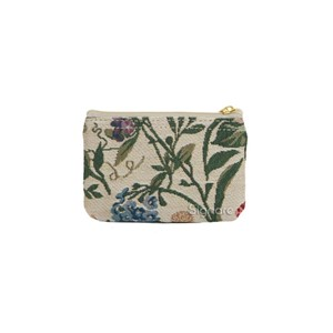 "Zip Coin Purse ""Morning Garden"""