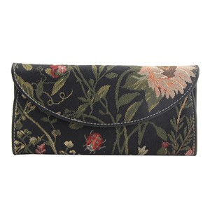 "Envelope Purse ""Morning Garden Black"""