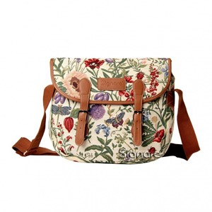"Messenger Bag ""Morning Garden"""