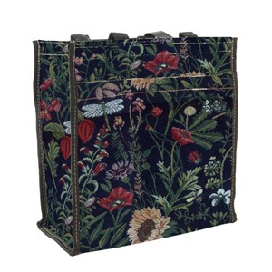 "Shopper Bag ""Morning Garden Black"""