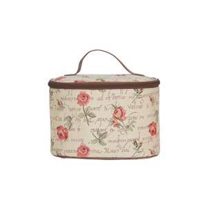 "Toiletry Case ""Pink Rose"""