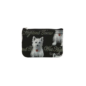 "Zip Coin Purse ""Westie"""